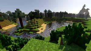 Minecraft: Depth Based Fog Test