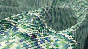 Cube Landscape by SupahPOW31