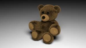 I made a Teddy Bear in Blender by SupahPOW31