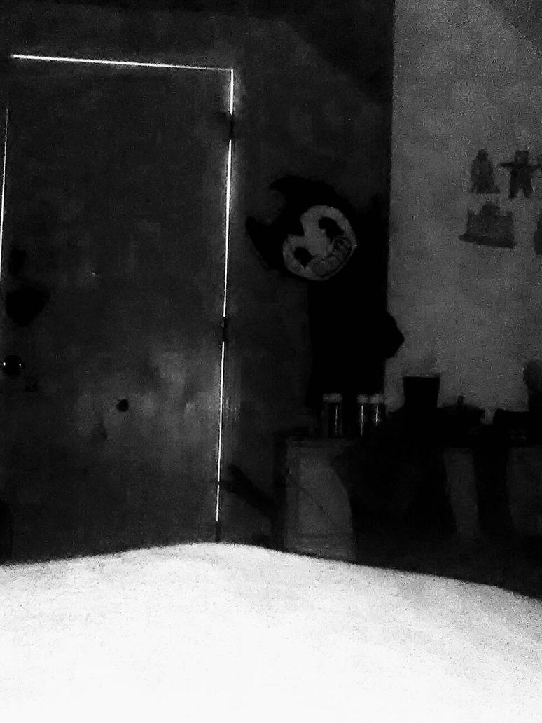 Bendy's in my room. by Blueart14