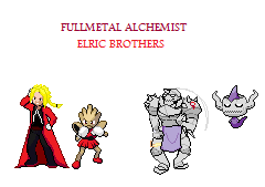 Fullmetal Alchemist Elric Brothers by Blueart14