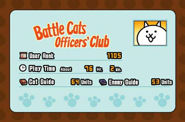 My Status on battle cats by Blueart14 on DeviantArt
