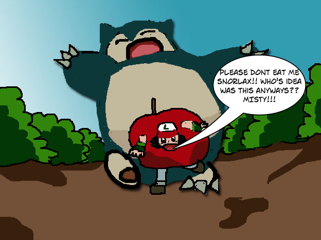 Snorlax Eating