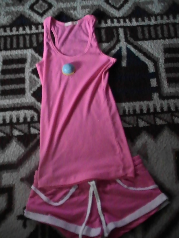 Princess Peach Basketball Outfit By Risingstar9109 On Princess Basketball