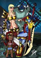 Super Adventure team! by PervertPumpkin
