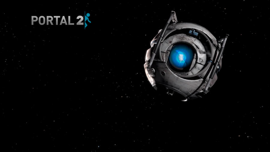 portal 2 wallpaper chell. Portal 2 Wallpaper by