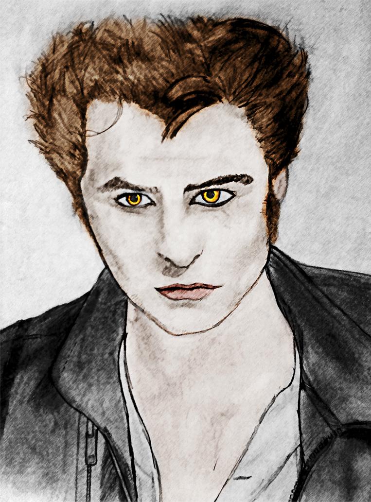Edward Cullen Sketch And Draw By Vyanka On Deviantart