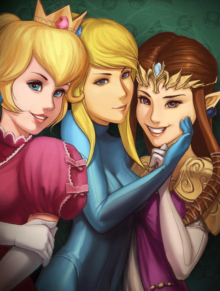 Girls of Super Smash Bros.