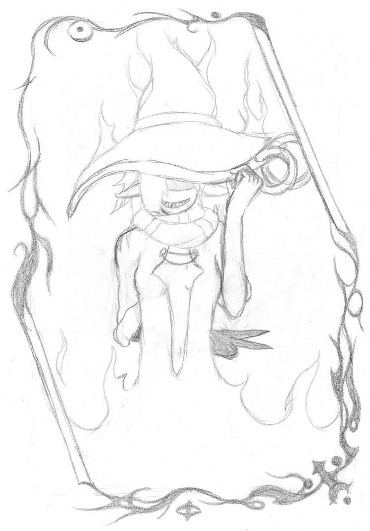 Heks portrait by Msr-LaugDaem