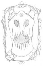 Abyss bones portrait by Msr-LaugDaem