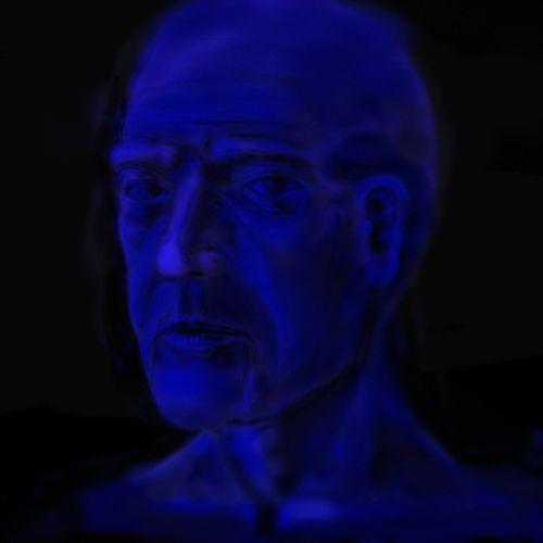 Blue Man by boogaarr
