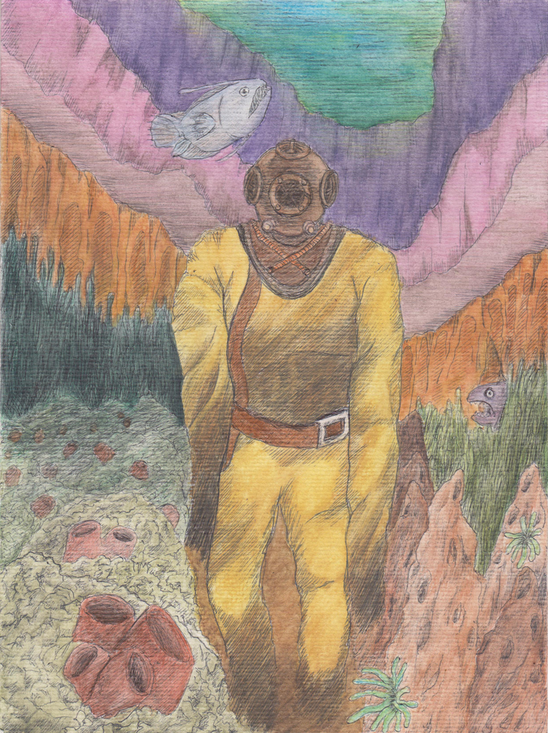 Deep sea diving suit by TofuXpress
