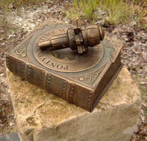 Bronze Book and Key by rubesart