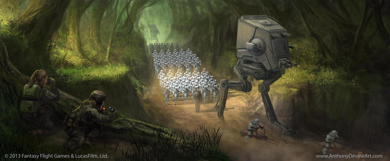 Star Wars: TCG - Forward Reconnaissance
