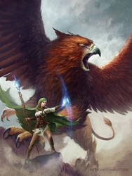 Griffin Mage by Anthony Devine