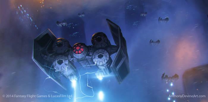 Star Wars X-Wing Death Rain by AnthonyDevine