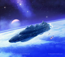 Star Wars Armada Wave II by AnthonyDevine