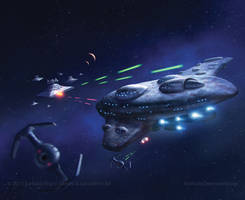 MC80 Liberty-type Cruiser by AnthonyDevine