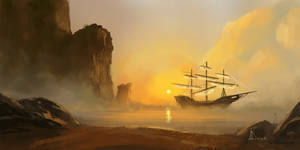 Speed Paint 31- Island by AnthonyDevine