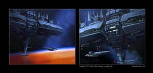 Star Wars Stellar Fortress Sketches