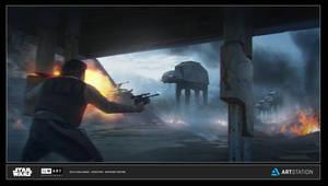 ILM Art Dept Challenge 'Escape From Yavin'
