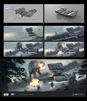 ILM Art Department Challenge 2: The Ride No.2 wips by AnthonyDevine