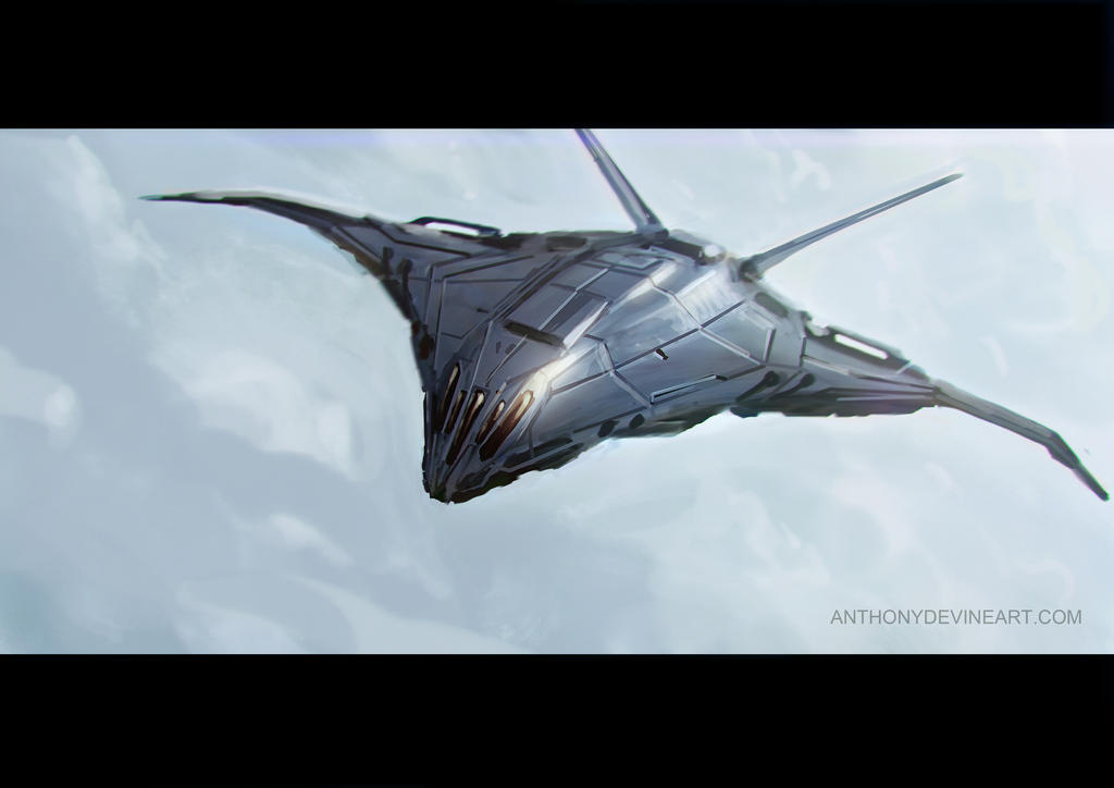 Fighter Sketch by AnthonyDevine