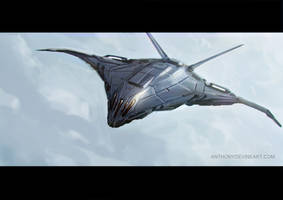 Fighter Sketch by AnthonyDevine