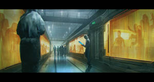 The Market corridor