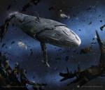 Star Wars- Mon Calamari Exodus Fleet