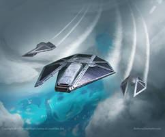 Star Wars- TIE Reaper- Vizier by AnthonyDevine