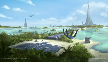STAR WARS- Citadel Landing Zone