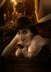 Lady Dimitrescu 3 by EzysummersCosplay