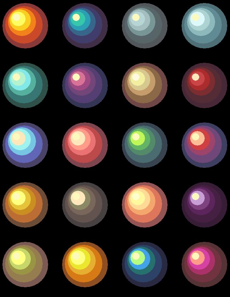 Old palettes