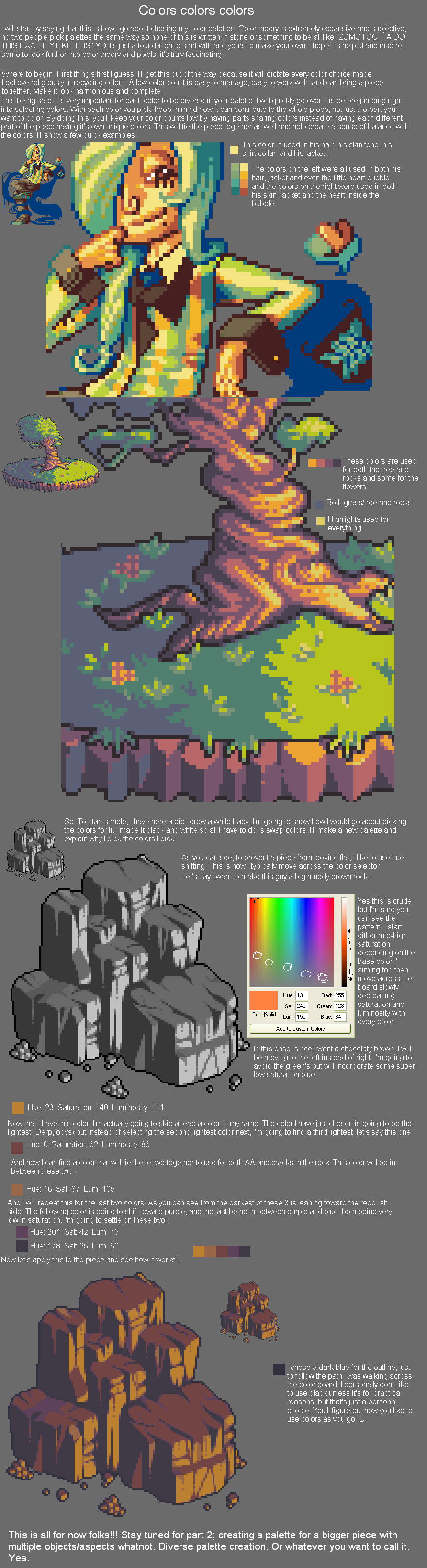 Palette Creation