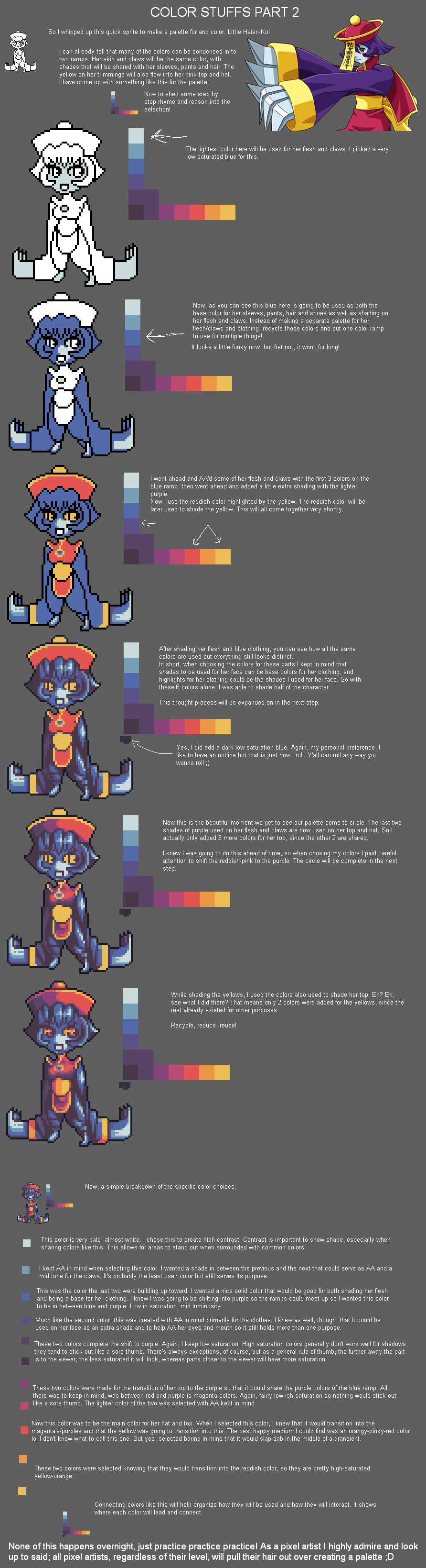 Color Stuffs Part 2 by RHLPixels