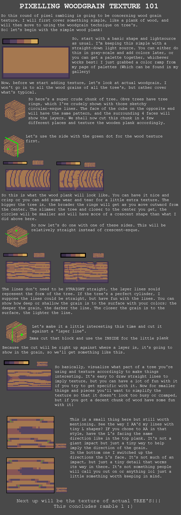 Wood grain texture Pt. 1