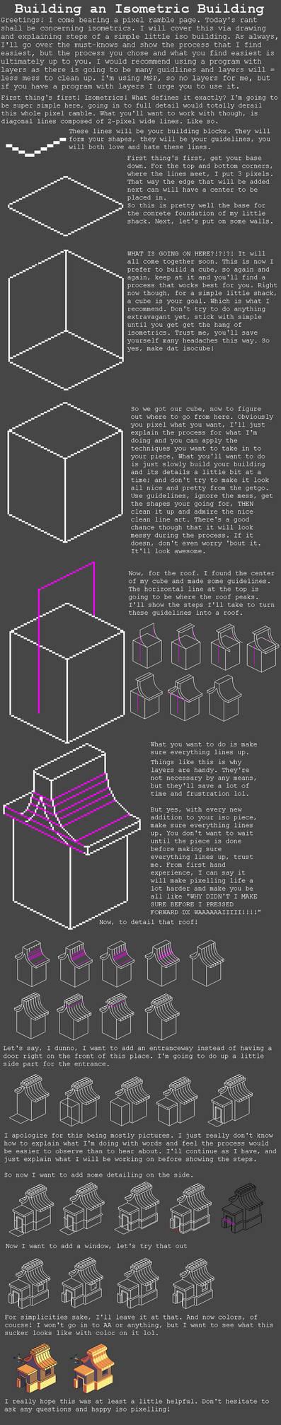 Isometric Tutorial by RHLPixels