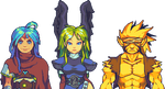 Breath of Fire Trio