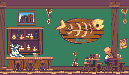 Salty Dog Bar Interior by RHLPixels