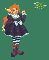Little Witch Felix by RHLPixels