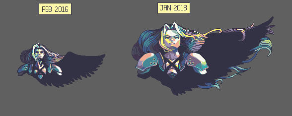 Sephiroth Re-do by RHLPixels