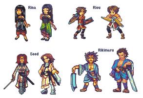 Suikoden Re-dos by RHLPixels