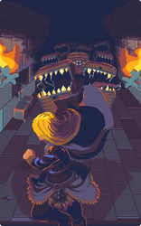 Dungeon Mauling by RHLPixels
