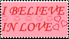 Stamp-I Believe In Love by FloxMelaina