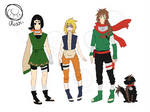 Naruto Next Generation: Team 5 by MhhKiwii