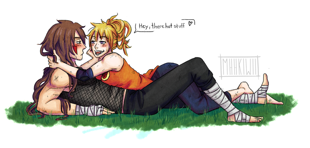 Training with the bae by MhhKiwii