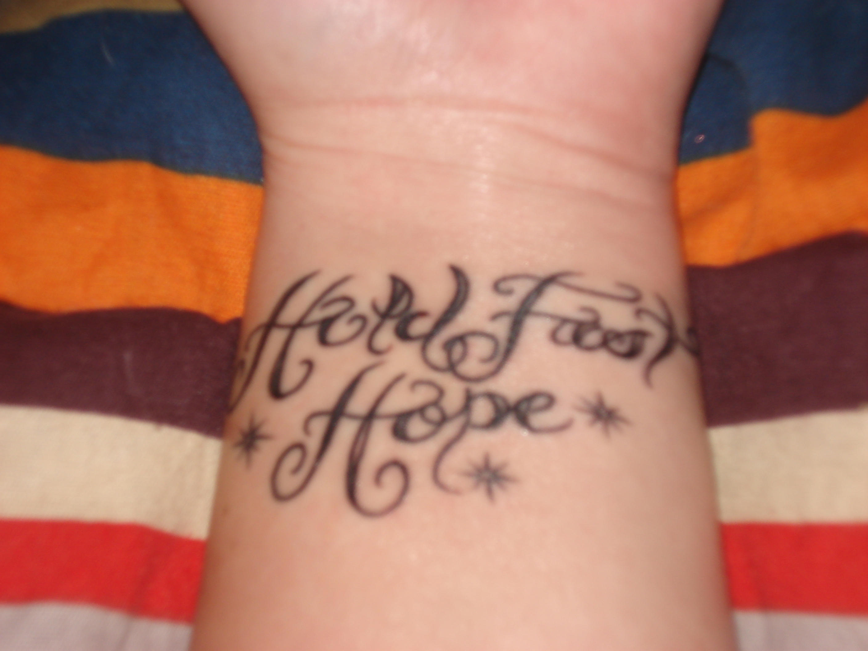 Hold fast hope tattoo by blueoct4lf on deviantart hold fast hope tattoo by blueoct4lf biocorpaavc Gallery