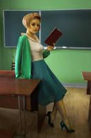 Edna Krabappel by Krieitor