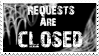Spider Web Stamp: Requets-Closed by x-XInsomniaX-x